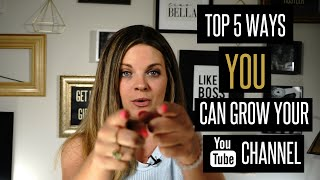 How to Grow Your YouTube Channel FAST