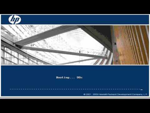 Installing Windows Server 2008 on HP ProLiant DL460 G4