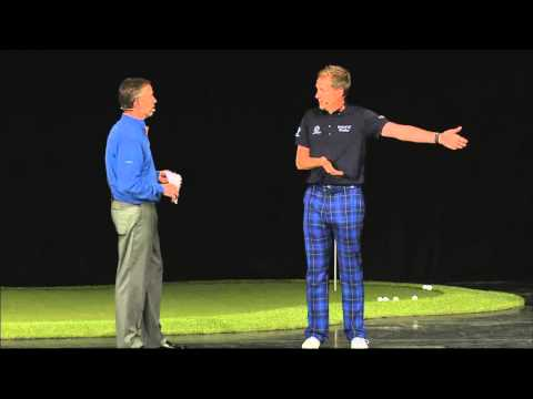Ian Poulter at PGA summit January 2013 - Putting & Practice