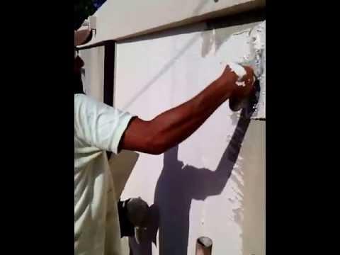 Grafiado instalacion en paredes venezuela youtube - Instalacion de pladur en paredes ...