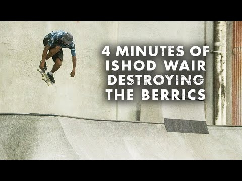 4 Minutes Of Ishod Wair Destroying The Berrics