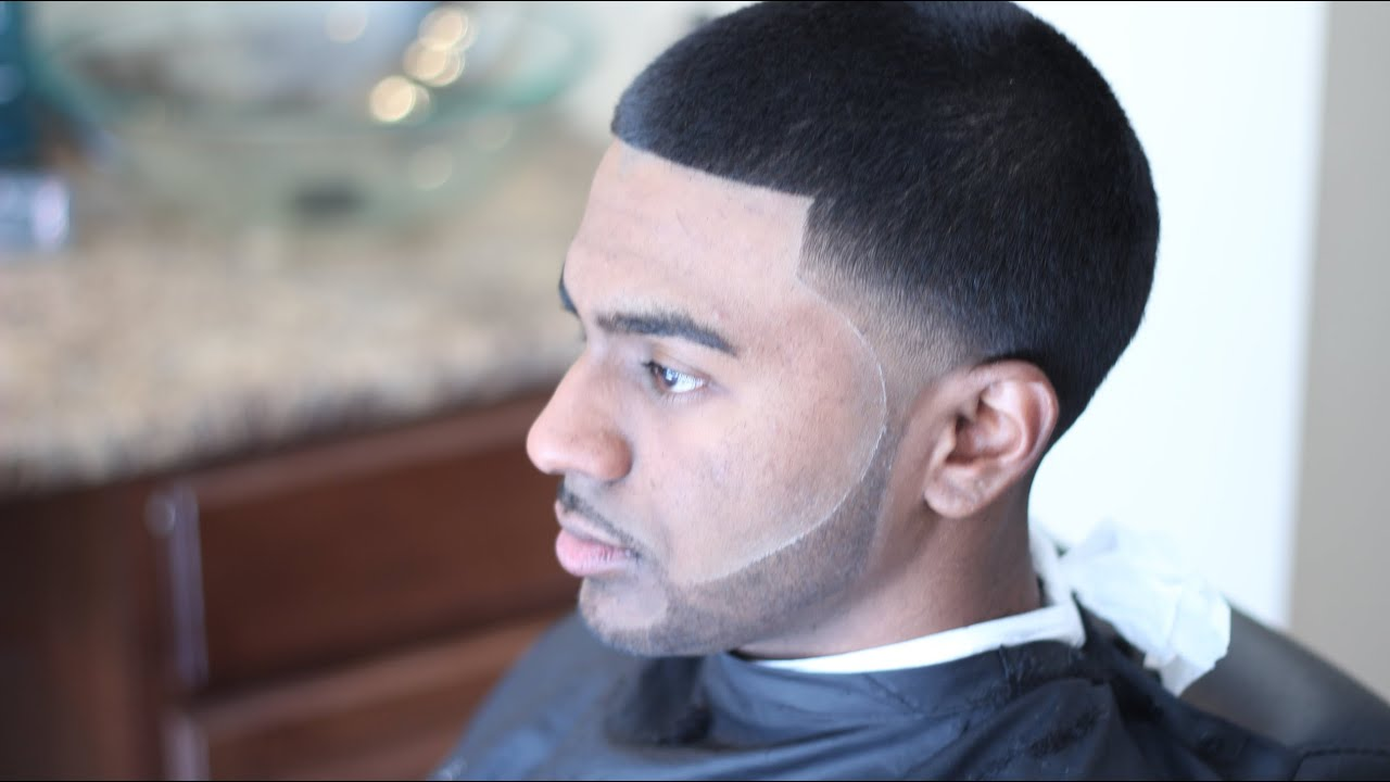 Nappy fade haircut