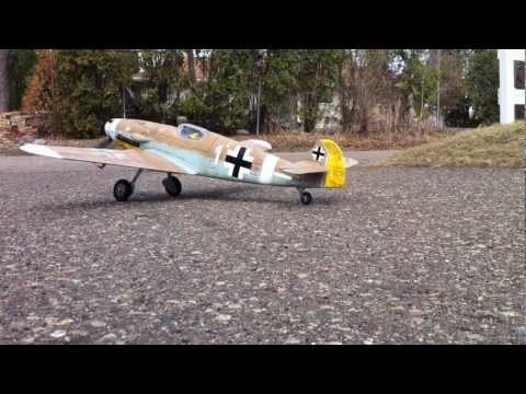 Parkzone Messerschmitt Bf-109G ME-109 RC Airplane weathering Desert Camo