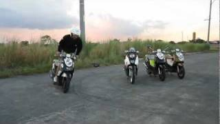 yamaha FINO stunters101 [Danza Kuduro-Don Omar]