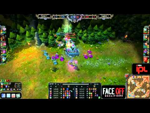Curse vs Legion - Game 3 - IPL Face Off Qualifiers - League of Legends