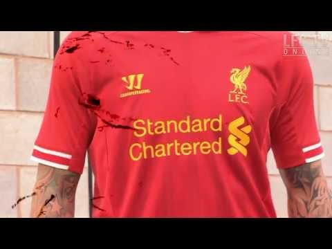 New LFC kit 2013-14