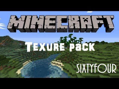 Minecraft texture pack (1.3.1/1.3.2) 64x64 faithful pack