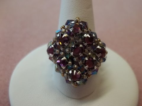 Retro Glam Ring