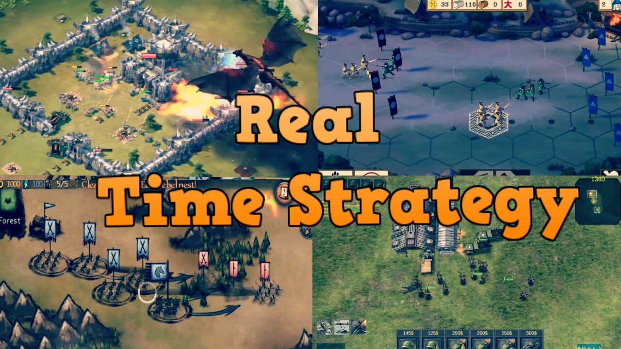 Top  Real Time Strategy Games For Android Youtube