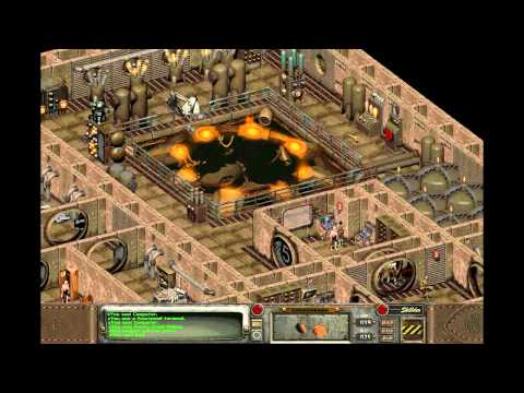 Let's Play Fallout 2 Part 22: Gecko Power Plant Fixed :D