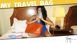 What's in My Travel Bag? | Shay Chic