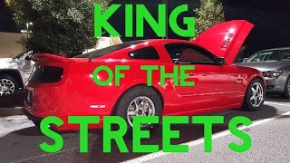 | KING OF THE STREETS | DEVIL Z VS TWIN TURBO 5.0, PROCHARGED 5.0, BUILT EVO X & SHELBY GT500