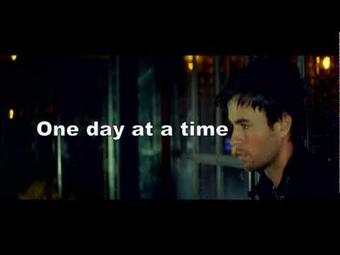 Enrique Iglesias - One Day At A Time (feat. Akon) [on Screen Lyrics] video