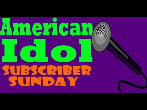 MrHockeyPants vs adopolus in American Idol  - Subscriber Sunday #26