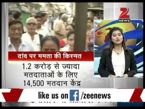 Fifth assembly election voting in West Bengal