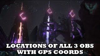 Ark Aberration - Location of All 3 Obelisks plus GPS Coordinates