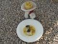 Bacalao con Crema de Patata Ahumado. Receta Gourmet para el Camping.