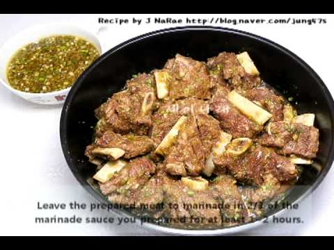 1 minute Recipe-So-Galbijjim (Korean Braised Beef Short Ribs Recipe)