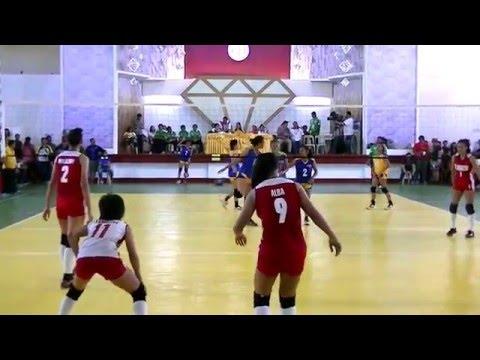 Palarong Pambansa 2016 Girls Volleyball NCR vs Calabarzon set 2