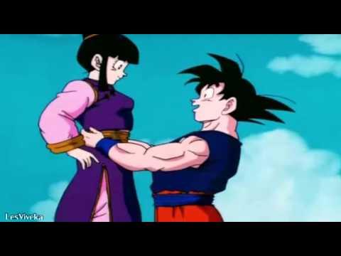 Mi corazon encantado Goku y Milk