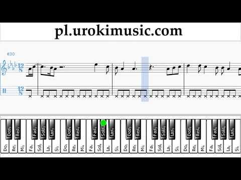 Nauka Gry Na Fortepianie (prawa Ręka) Ed Sheeran - Perfect Nuty Poradnik Um-i463