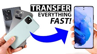 02. Galaxy S21 Ultra Unboxing and Fastest Setup Method (Transfer All Data)!