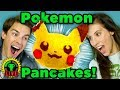 Gotta COOK 'Em All! | Pokemon Pancake Art Challenge