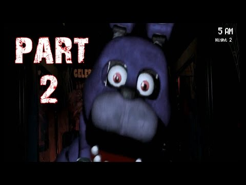 Five Nights at Freddy's Gameplay Walkthrough Part 2: Facecam Initiated (PC)