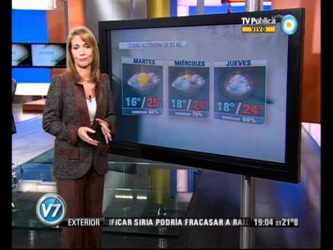 Visión Siete: Pronóstico: Alertas meteorológicos