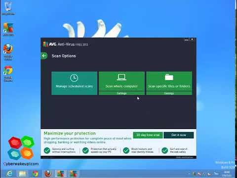 :: Apps Review :: รีวิว AVG Antivirus Version 2013 Free on Windows 8 Pro