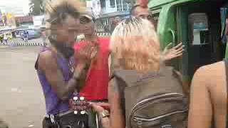 Anak punk stret jambi ngamen di jalanan asli