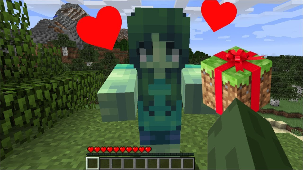 Minecraft MARK BUYS MARIE A GIFT / ZOMBIE BOYFRIEND AND ZOMBIE GIRLFRIEND BUY GIFTS !! Minecraft