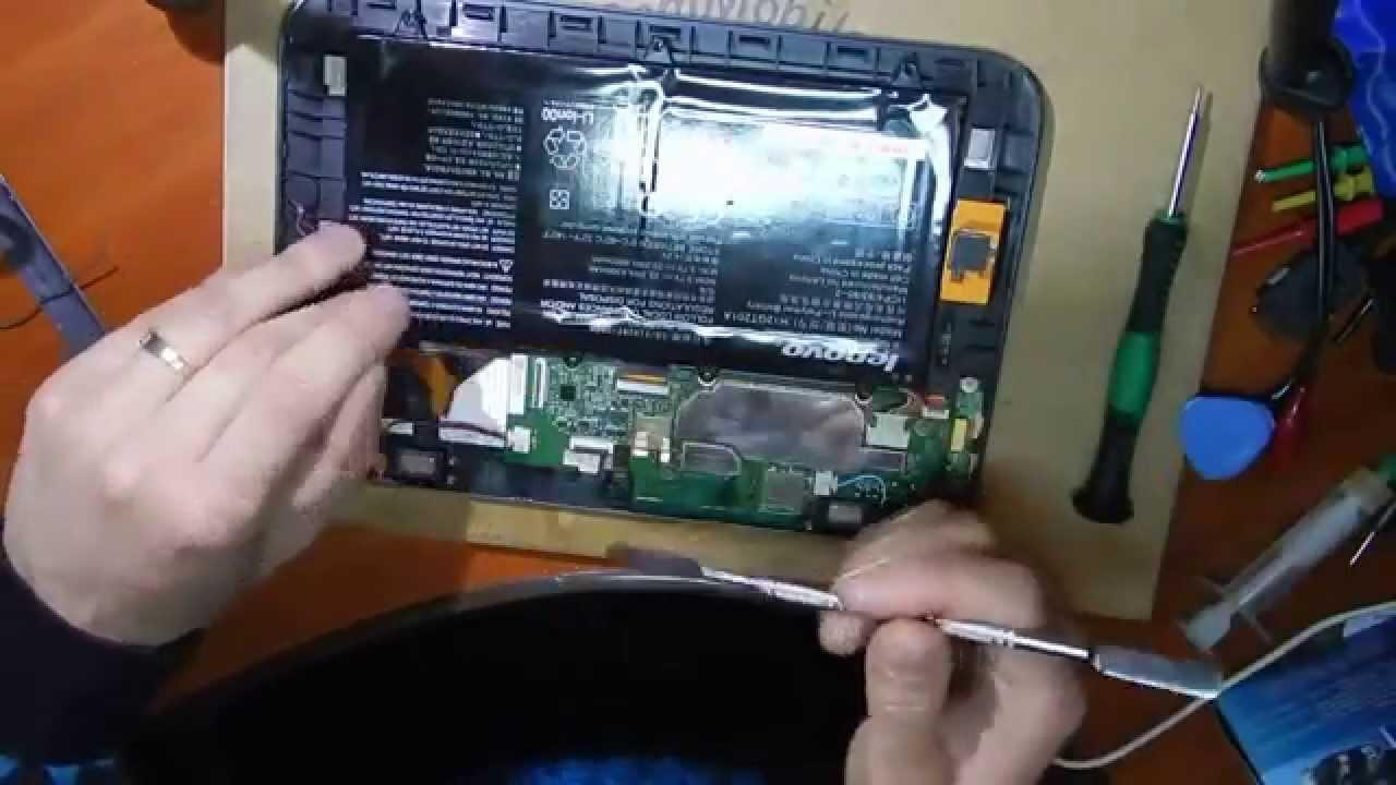 Ремонт планшетов леново своими руками 42