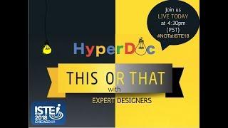 #NOTATISTE HyperDoc Expert Panel Game Show