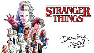 STRANGER THINGS | Draw My Life