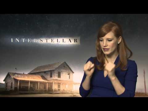 Jessica Chastain Interview Interstellar With Sean Munsanje