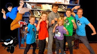We met Jackie Chan!  NINJA KIDZ TV