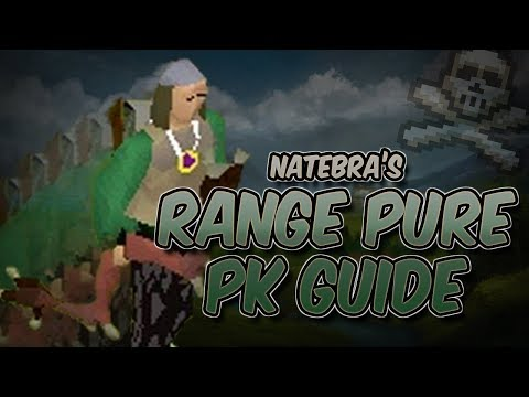 NateBra's Range Pure PKing Guide - Tips & Tricks For Range Pure PKing - Oldschool Runescape 2007