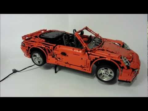 LEGO Porsche 911 (997) Turbo Cabriolet PDK by Sheepo