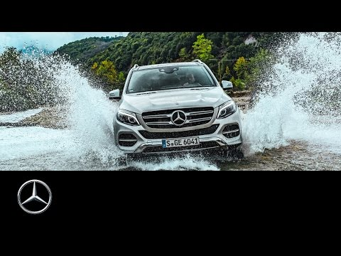 With the GLE in Albania. Offroad Tracks Part I - Mercedes-Benz original