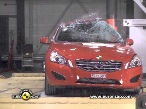 Euro NCAP | Volvo V60 | 2012 | Краш-тест