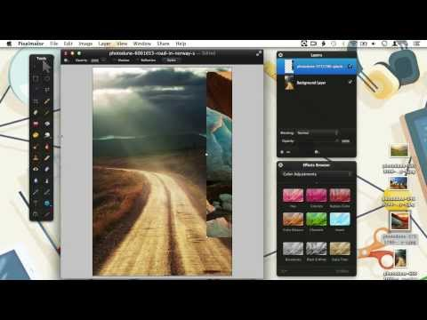 How to Work With Layers in Pixelmator