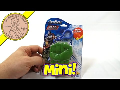 Avengers Hulk's Smashing Challenge Mini Travel Card Game – St. Patrick's Day 2014