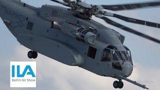 4K / SIKORSKY CH-53K KING STALLION - 1st INTERNATIONAL FLIGHT DISPLAY @ ILA 2018