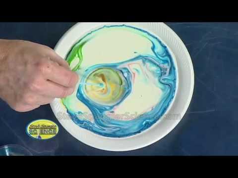 Невероятные эксперименты с молоком