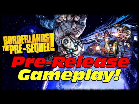 Borderlands Presequel Pre-Release Gameplay! A First Look At Borderlands Presequel With Developers!