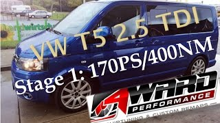 4Ward Performance | Chiptuning VW T5 2.5 TDI Stage 1