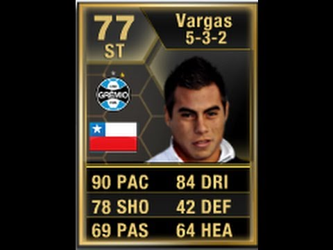 FIFA 13 IF VARGAS 77 Player Review & In Game Stats Ultimate Team