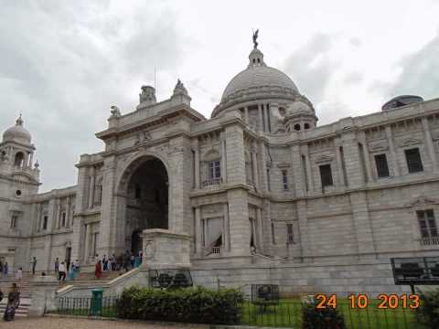 Kolkata's Famous Place Victoria Memory Hall's Picture With Many Beautiful Women video