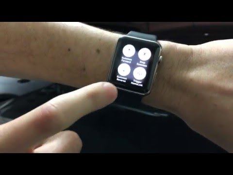 Tesla Model S P85D Summon from Apple Watch (Remote S - Rego Apps)